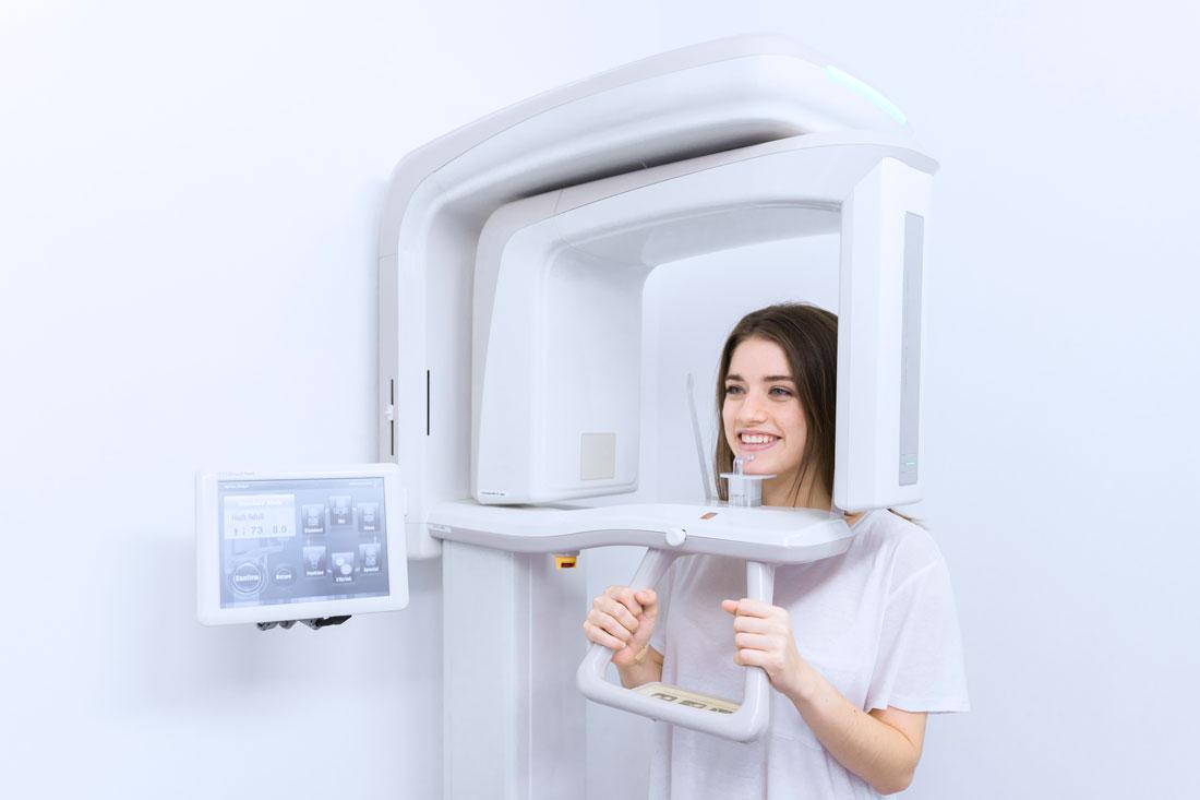 Dental head scan London King's Cross